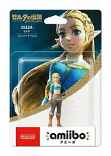 Amiibo The Legend of Zelda Breath of The Wild Zelda Wii U Switch Figure Japan