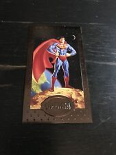1994 SKYBOX MAN OF STEEL SUPERMAN PLATINUM SERIES PREMIUM EDITION PROMO CARD SP1