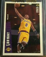 Upper Deck Collectors Choice Kobe Bryant ROOKIE CARD 1996-1997 Sharp RC!