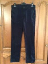 Zara Youth Navy Chino Trousers Size Eur 38