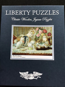 Liberty Wooden jigsaw puzzles: The Five Senses