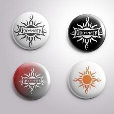 4 GODSMACK -  Pinbacks Badge Button 25mm 1''..