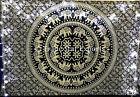 Elephant Mandala Wall Hanging Tapestry Hippie Cotton Wall Decor Boho Beach Throw