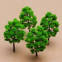 10pcs Green Model Tree Train Trees Railroad Scenery Diorama HO N Guage