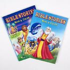 Bible Stories Kids Coloring Book Read  Color Christian Activity Books Set of 2