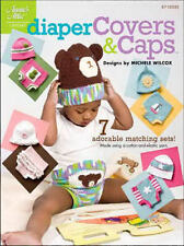 Diaper Covers & Caps Matching Sets (0-24mth) Crochet Patterns Annie's Attic NEW