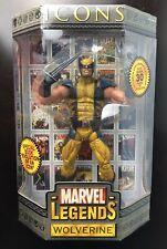 """Marvel Legends Icons Wolverine 12"""" Figure New Sealed Masked Variant X-MEN 2006"""