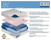 Boyd 143 Shallow Fill  Water Bed-5 Different Bladder options! Pick Size/Bladder!