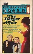 The Man From U.N.C.L.E. Number 4, The Dagger Affair by Daniel McDaniel