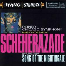 Rimsky-Korsakov: Scheherazade / Stravinsky: Song of the Nightingale (CD)