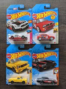 Hot Wheels 2021 ~ Kroger Exclusives ~ GMC Syclone, Lancia, Buick, Mustang ~ Lot