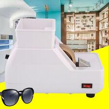 White 120w Optical Hand Edger Manual Eyeglass Lens Grinder Edging Machine 110v