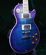 Customized LP Electric Guitar Figured Maple Top Veneer Maple Fingerboard