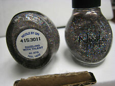 2 yes 2 bottles of Nicole by Opi Nail Polish Ni 473 Dazzling With Talent