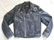 Harley Davidson Leather Jacket Panhead Hydra Glide 1950s Police Cycle Champ 38