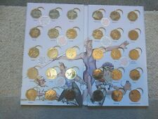 Complete Olympic 50p Coin Hunt Collector Album With Completer Medallion VGC