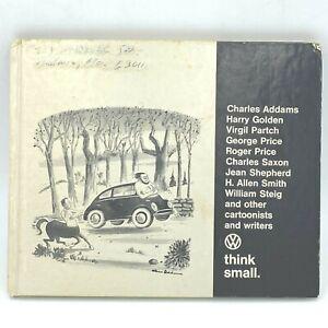 Think Small Volkswagen Book Cartoons 1967 signed JJ Joe Leonard VW Promo BK6