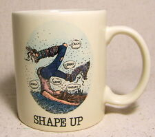 Gary Patterson Sports Collection Shape Up Cup Coffee Mug Royal Orleans 1984Japan