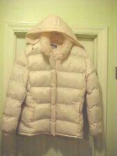 Juniors Size L Puffer Coat By Saiping Detachable Hood Long Sleeve EUC