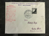 1939 Frankfurt Germany Graf Zeppelin II Cover to Berlin LZ 130