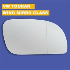 For VW Touran wing mirror glass 2003-09 Right Driver side Aspherical blind spot