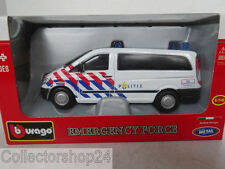 Bburago : Mercedes-Benz Vito Police Netherlands 1:50 New