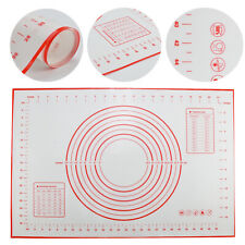 Ausrollmatte Backmatte Silikon Fondant Rollmatte Teigmatte Teigunterlage 60x40cm