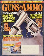 Magazine GUNS & AMMO December 1995 SMITH & WESSON Model 651 .22 Magnum REVOLVER