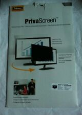 FELLOWES 20.5'' / 510.5mm WIDESCREEN PRIVASCREEN BLACKPUT PRIVACY FILTER
