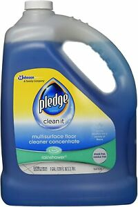 Pledge Multi-Surface Floor Cleaner Concentrated Liquid, Shines Hardwood, 1 Gal