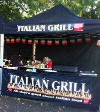 Mobile Heavy Duty Catering Trailer Commercial Bar Food Market Stall Aluminium