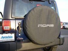 Jeep Wrangler spare tire cover P255/75R17 LT255/75R17 P255/70R18 MOAB edition OE
