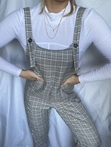 Checkered Jumpsuit Womens Size 10