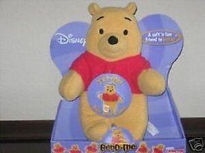 Fisher Price Disney Bend-Me Winnie Pooh Baby Toy NEW Soft Plush