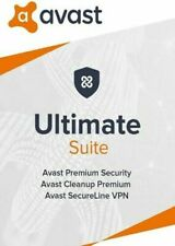 AVAST ULTIMATE 2021 - FOR 10 DEVICES - 2 YEARS - INCLUDES VPN - DOWNLOAD