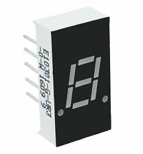 "Rouge 0.30"" à 1 chiffres 7 seven segment display anode led"