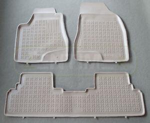 Gummifußmatten für Lexus RX 450h 3 Vor-Facelift Steilheck Geländewagen SUV 5- 53
