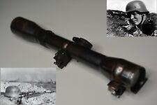 WW2 WWII GERMAN Wehrmacht Sniper Rifle Scope AJACK 4 x 68 / K98 with reticle # 1