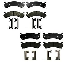 Front & Rear Semi-Metallic Brake Pad Sets Kit ACDelco Pro For Chevy GMC Hummer