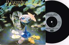 "MARILLION - SUGAR MICE - 7"" 45 VINYL RECORD w PICT SLV - 1987"