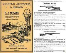 PJ O'Hare 1937 Shooting Accessories Catalog