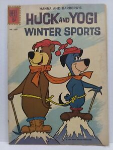 Dell Four Color #1310 Huck And Yogi Winter Sports (1962)