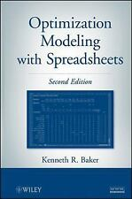 Optimization Modeling with Spreadsheets by Kenneth R. Baker (2012, E-book)