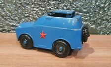 RUSSIAN DIECAST MILITARY TOY ARMORED CAR ROCKET LAUNCHER USSR SOVIET