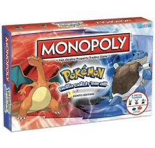 Pokemon Monopoly Board Game- Family & Friends & Holiday Board Game, From U.S.A