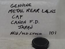 Tutto in metallo CANON FIT posteriore dell'obiettivo FD Cap. (non EOS mounts). FL VINTAGE AUTENTICO FD R