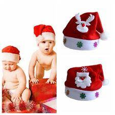 Baby Eltern Weihnachtsmütze Weihnachtsmann Rentiere Schneemann Xmas Cap Geschenk
