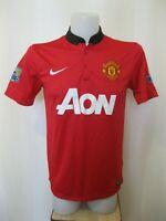 Manchester United 2013/2014 Home Sz M Nike shirt jersey maillot soccer football