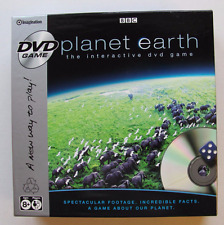 BBC Planet Earth Interactive DVD Game 2007 Discover the World Complete