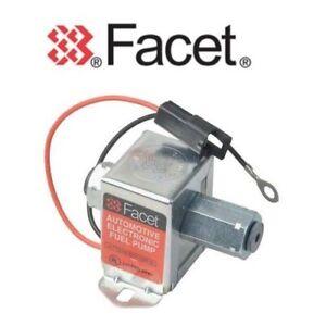 FACET CUBE FUEL PUMP 40171 / SS171 12v ELECTRIC + SHUT OFF VALVE - KTM950